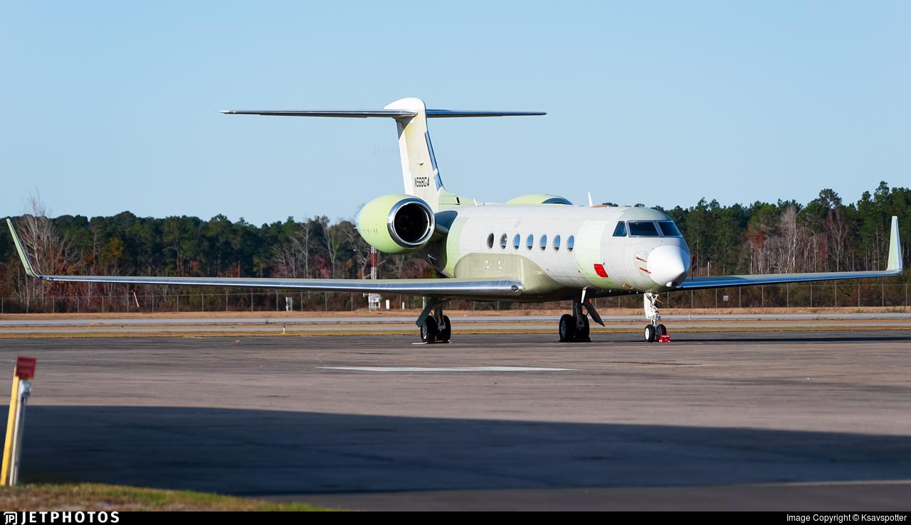 N568GA - Gulfstream G550 - Gulfstream Aerospace