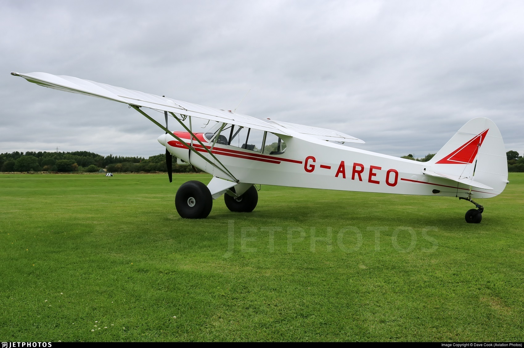 G-AREO - Piper PA-18-150 Super Cub - Private