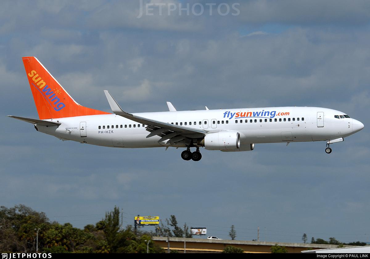 PH-HZK - Boeing 737-8K2 - Sunwing Airlines (Transavia Airlines)