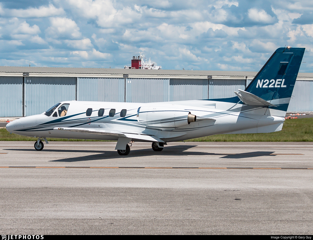 N22EL - Cessna 501 Citation - Private