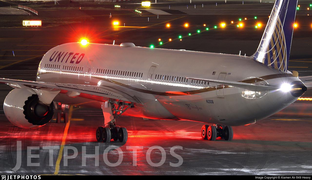 N12006 - Boeing 787-10 Dreamliner - United Airlines