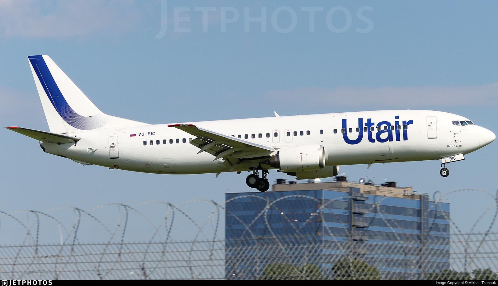 VQ-BIC - Boeing 737-45S - UTair Aviation