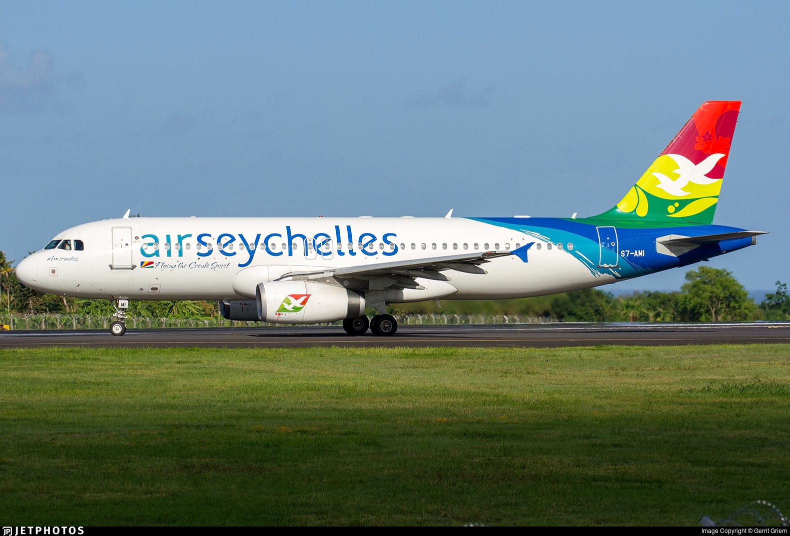 S7-AMI - Airbus A320-232 - Air Seychelles