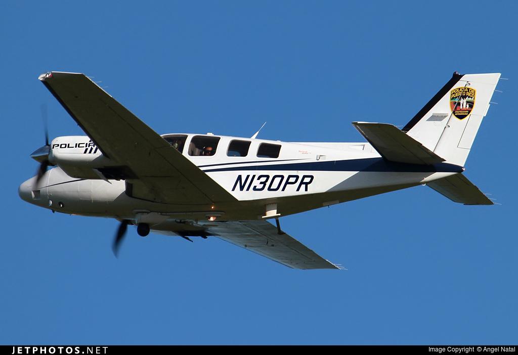 N130PR - Beechcraft Baron G58 - Puerto Rico - Police