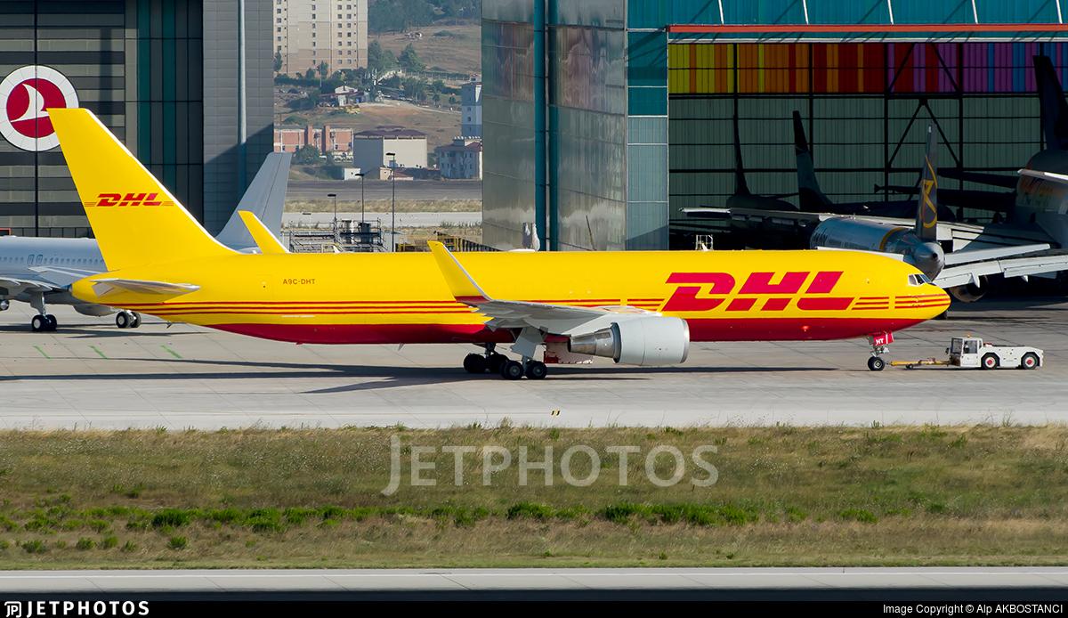 A9C-DHT - Boeing 767-323(ER)(BDSF) - DHL International Aviation