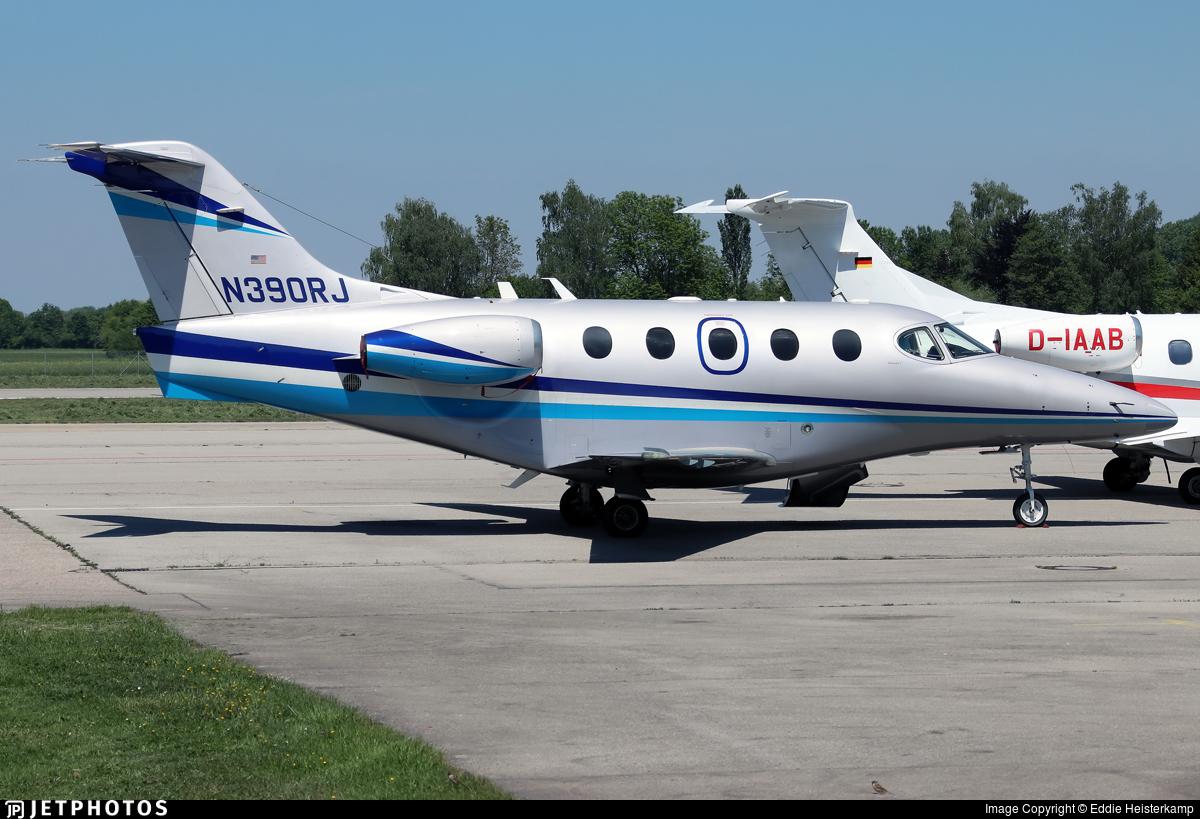 N390RJ - Raytheon 390 Premier IA - Private