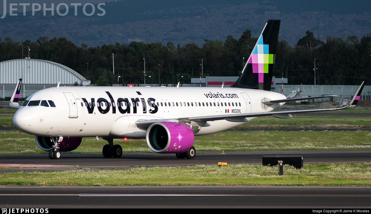 N532VL | Airbus A320-271N | Volaris | Jaime K Morales