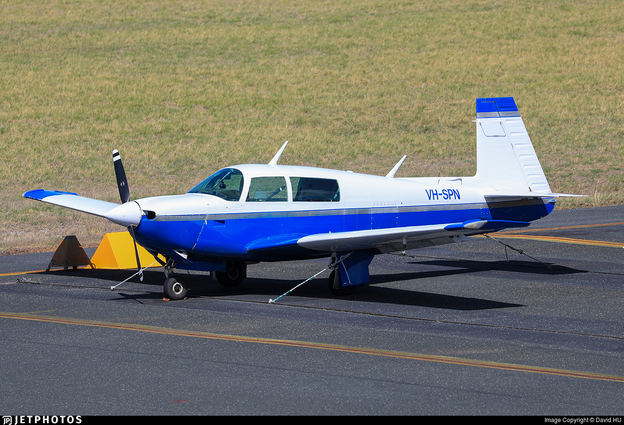 VH-SPN - Mooney M20J - Aero Club - Western Australia