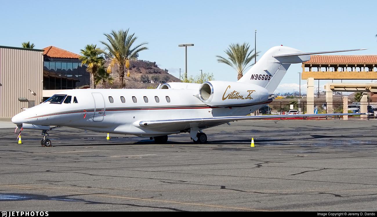 N966QS - Cessna 750 Citation X - NetJets Aviation