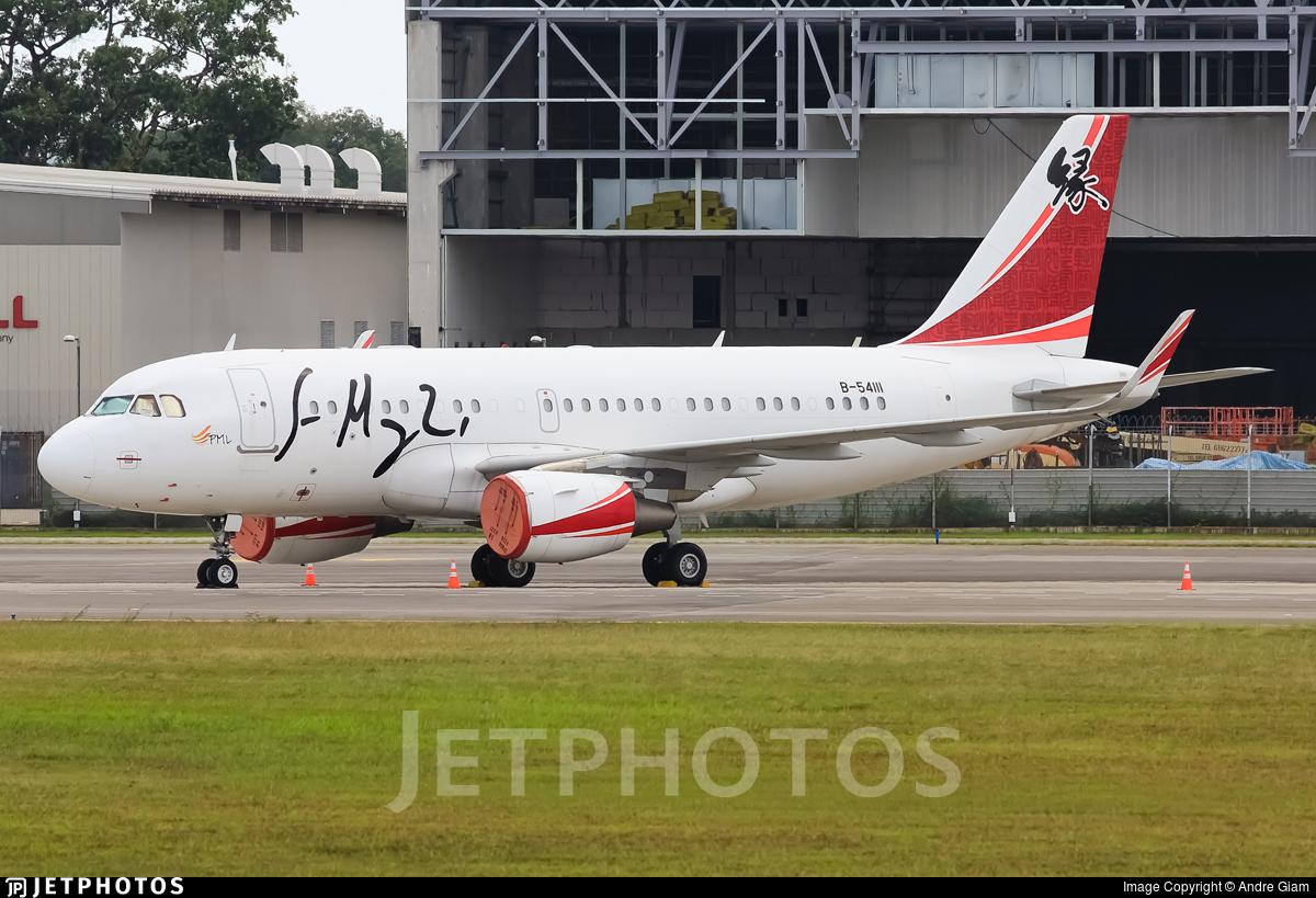 B-54111 - Airbus A319-115(CJ) - Private