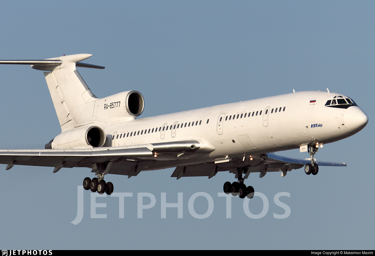RA-85777 - Tupolev Tu-154M - UTair Aviation
