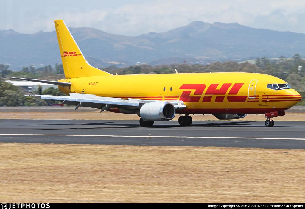 N306GT - Boeing 737-45D(SF) - DHL (Southern Air)