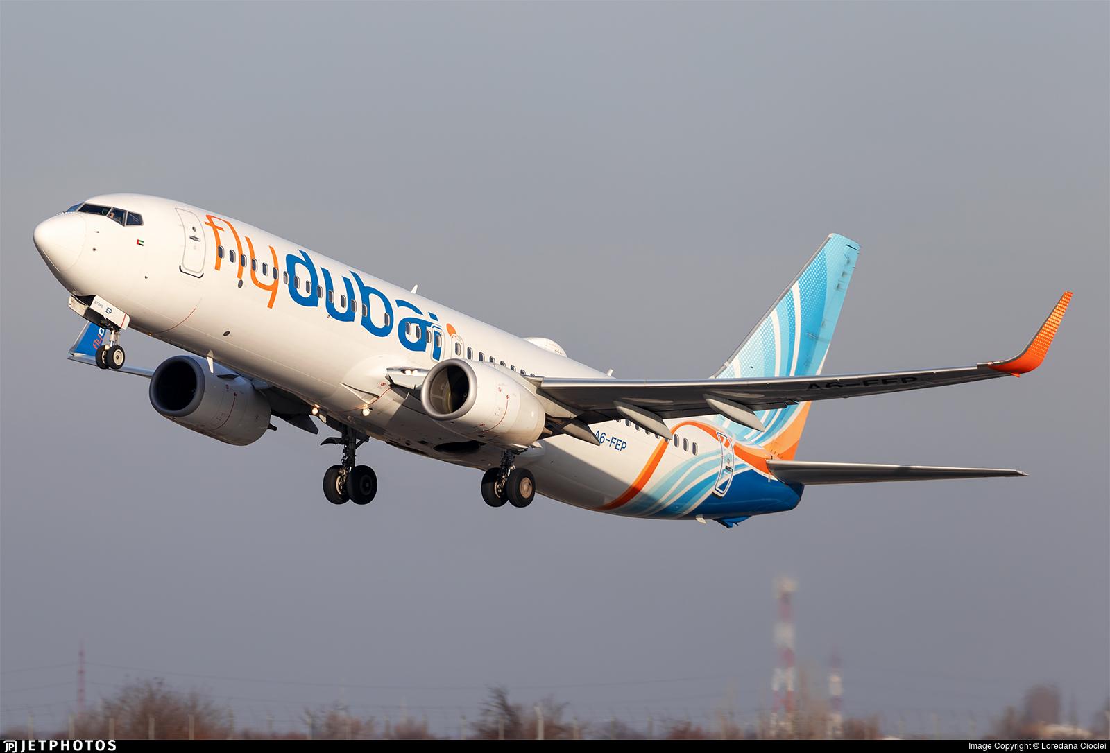A6-FEP - Boeing 737-8KN - flydubai