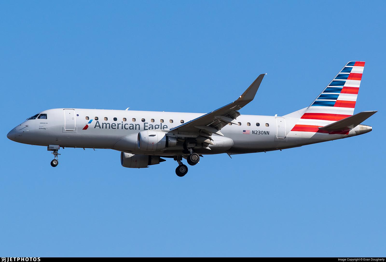 N230NN - Embraer 170-200LR - American Eagle (Envoy Air)