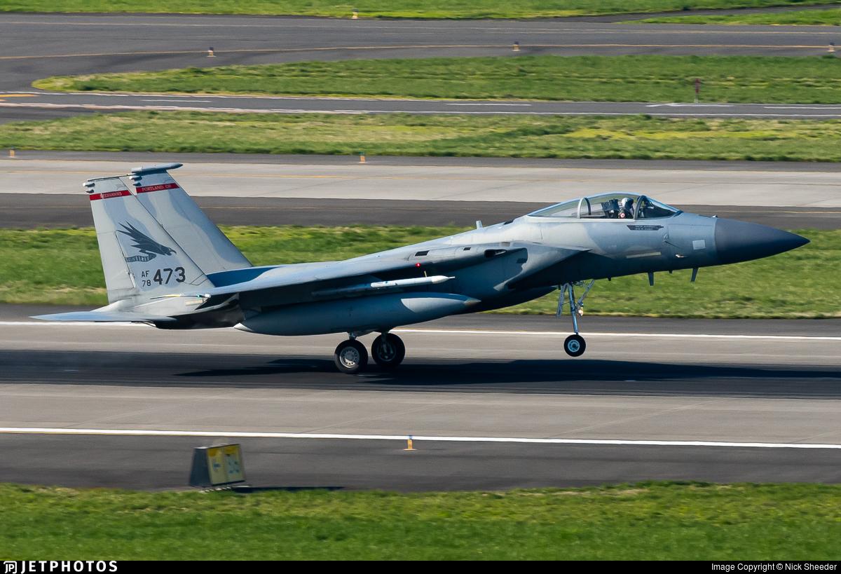 78-0473 - McDonnell Douglas F-15C Eagle - United States - US Air Force (USAF)