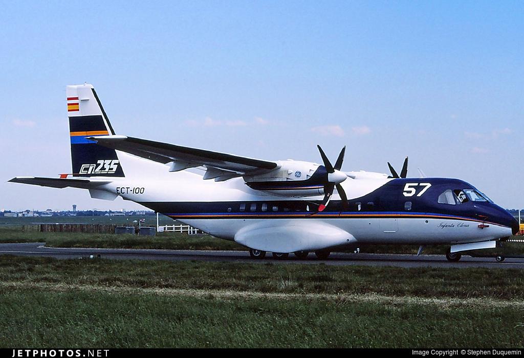 ECT-100 - CASA CN-235-10 - CASA