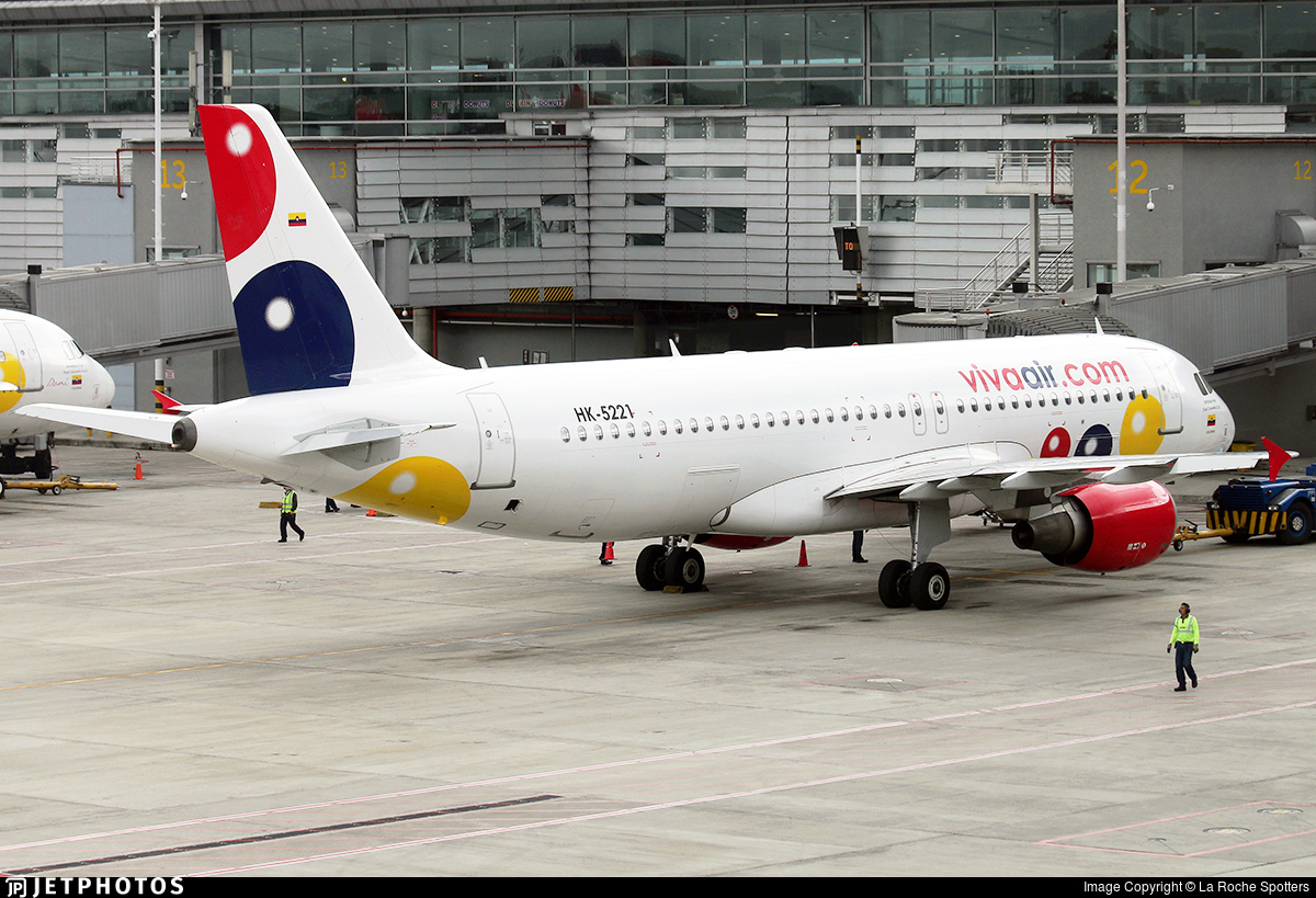 HK-5221 - Airbus A320-214 - Viva Air Colombia