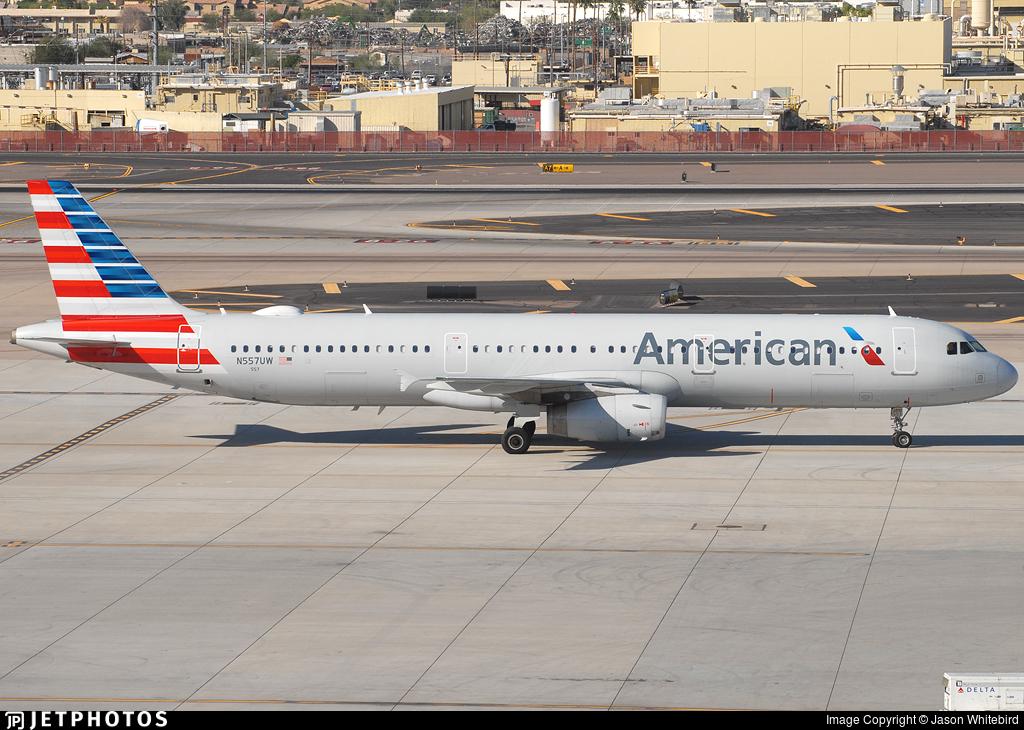 N557UW - Airbus A321-231 - American Airlines