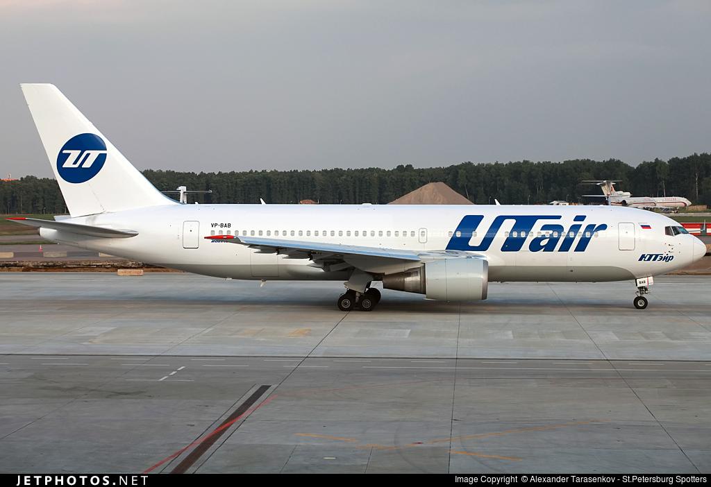 VP-BAB - Boeing 767-224(ER) - UTair Aviation