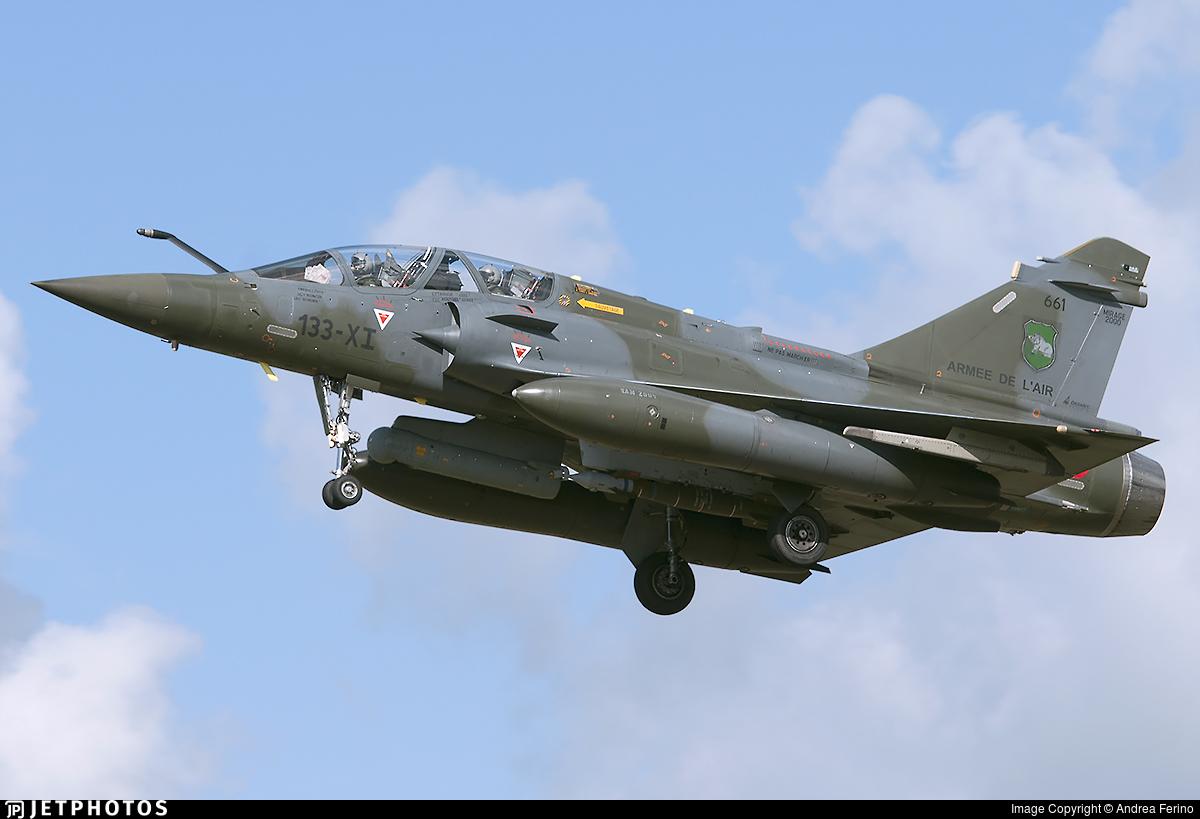 661 - Dassault Mirage 2000D - France - Air Force