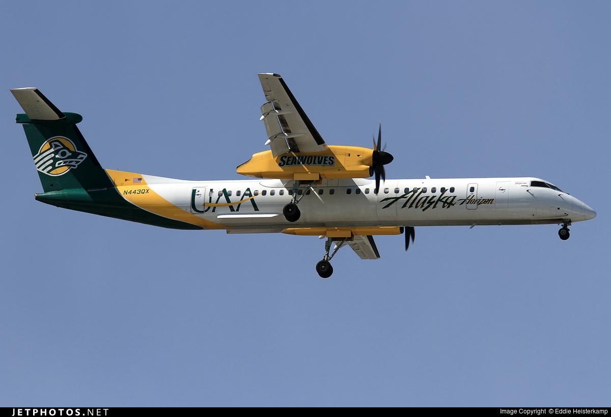 N443QX - Bombardier Dash 8-Q402 - Alaska Airlines (Horizon Air)