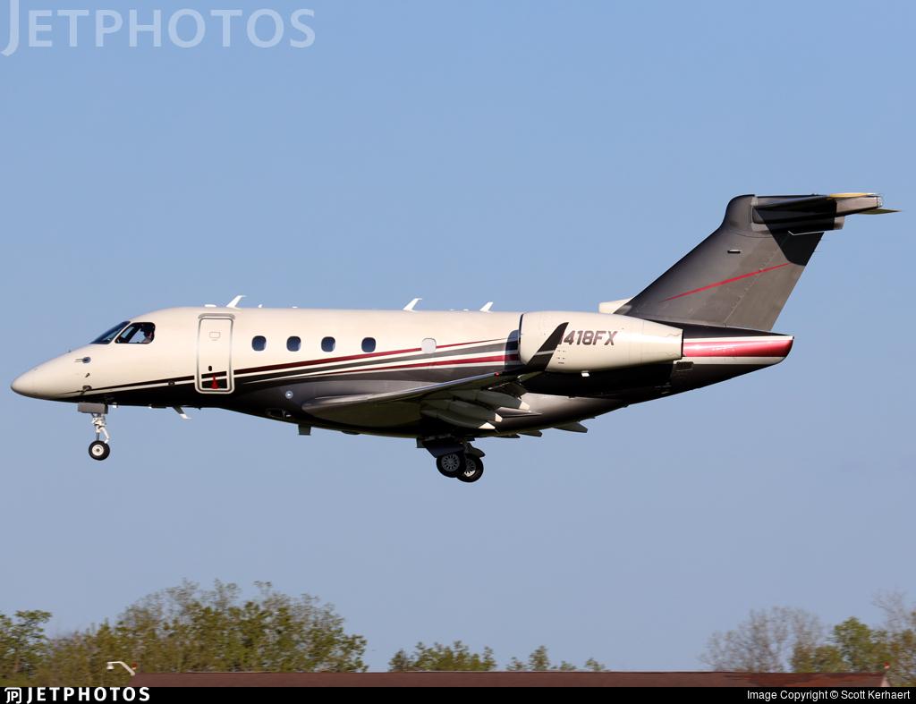 N418FX - Embraer EMB-545 Legacy 450  - Flexjet