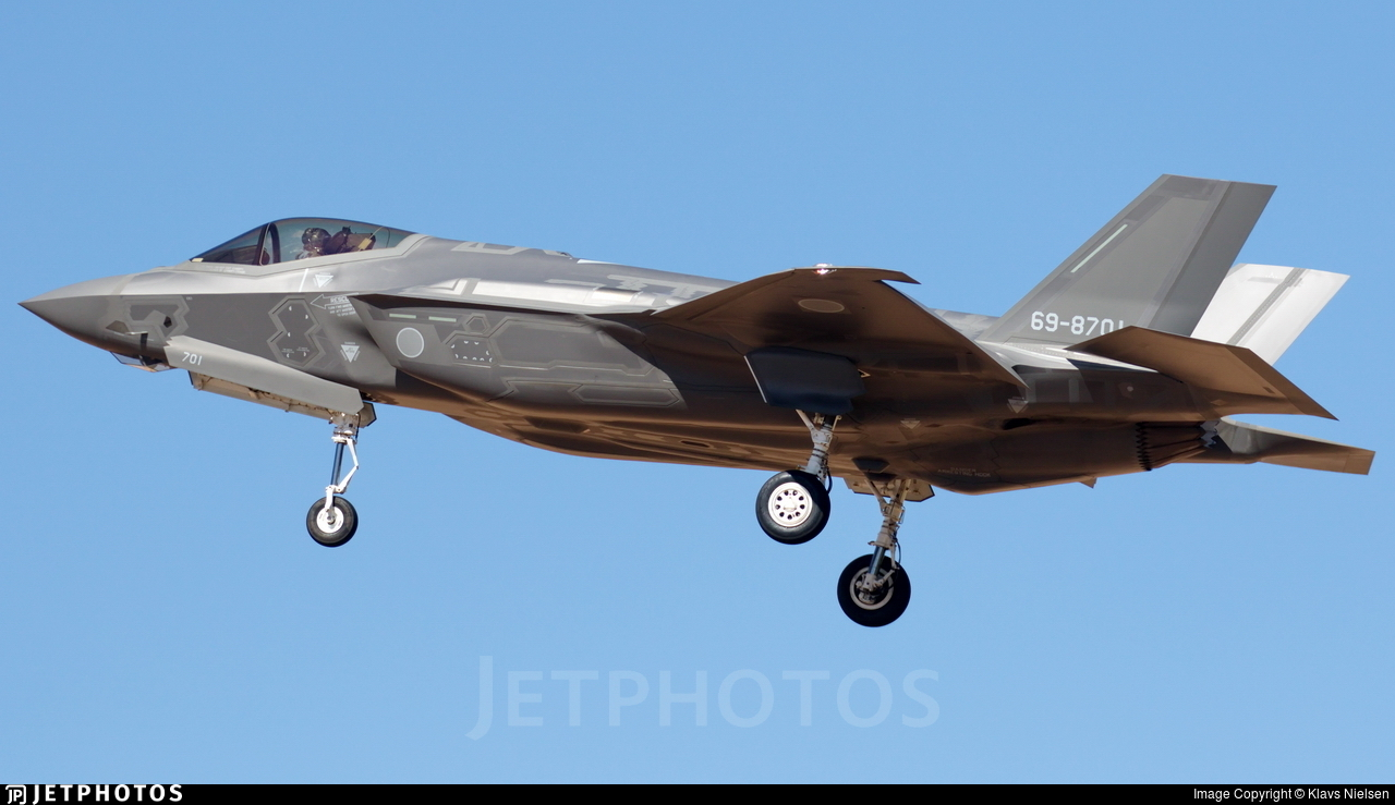 69-8701 - Lockheed Martin F-35A Lightning II - Japan - Air Self Defence Force (JASDF)