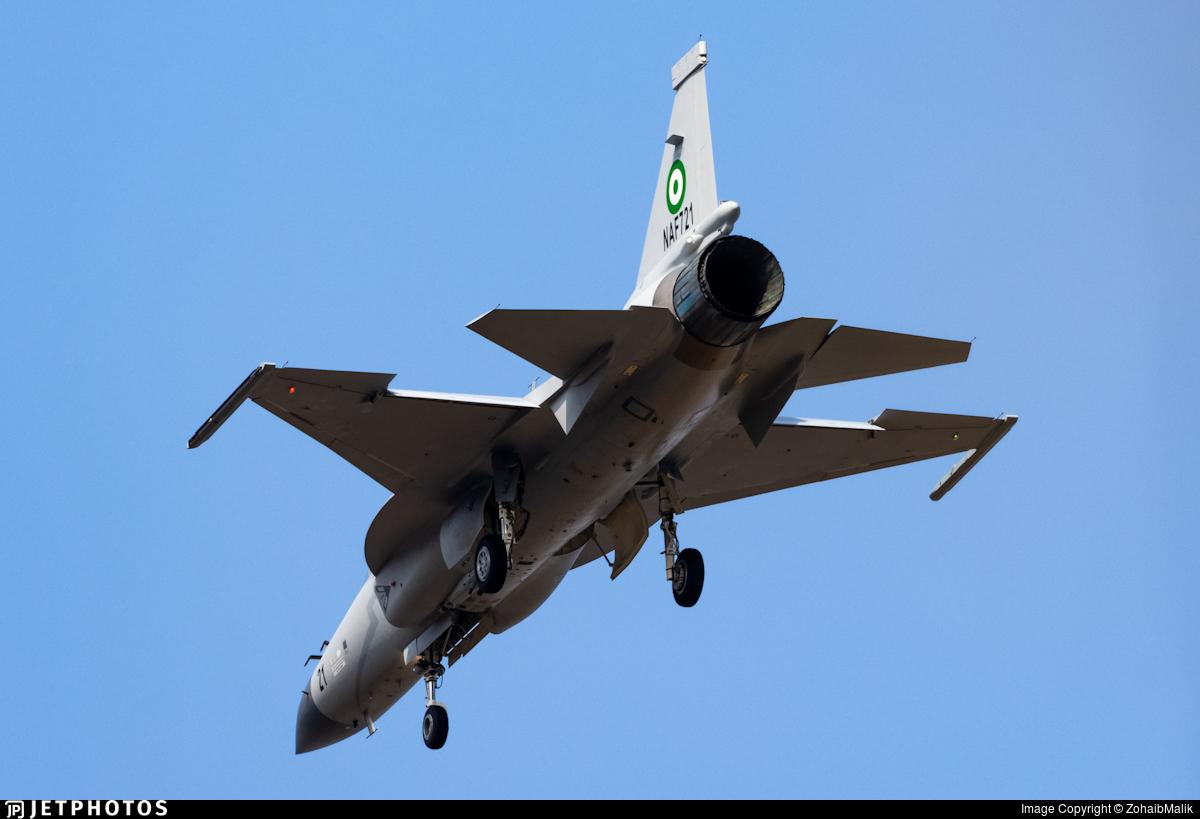 NAF721 - Chengdu JF-17 Thunder - Nigeria - Air Force
