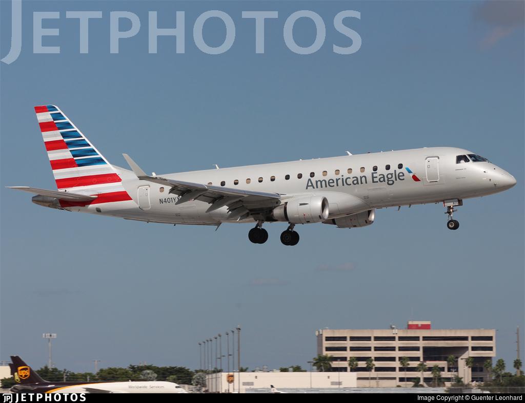 N401YX - Embraer 170-200LR - American Eagle (Republic Airways)
