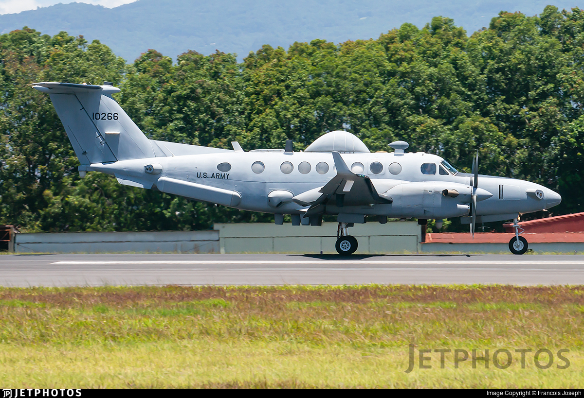 11-00266 - Beechcraft MC-12S Huron - United States - US Army