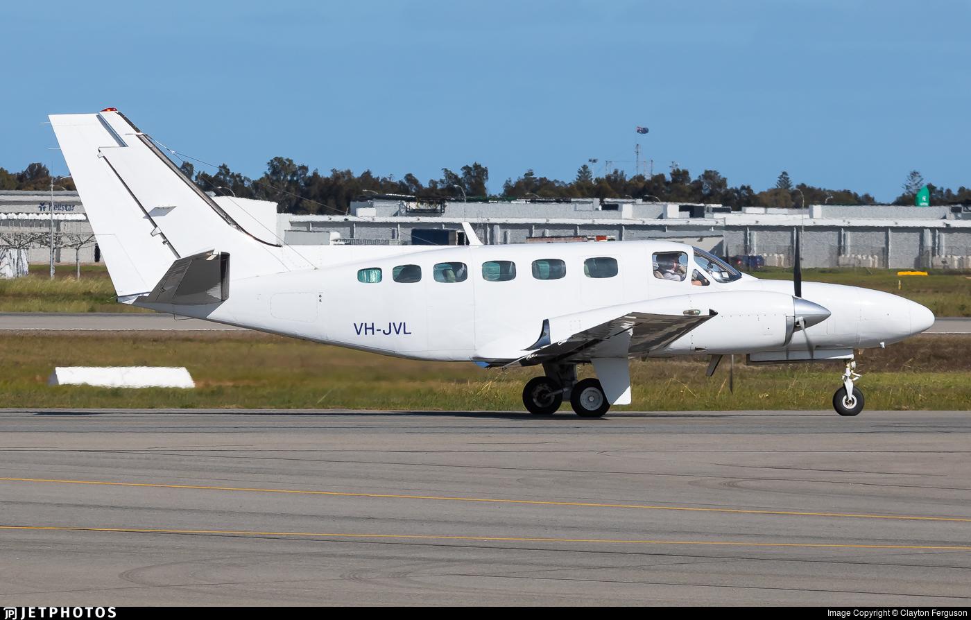 VH-JVL - Cessna 441 Conquest - Sharp Airlines