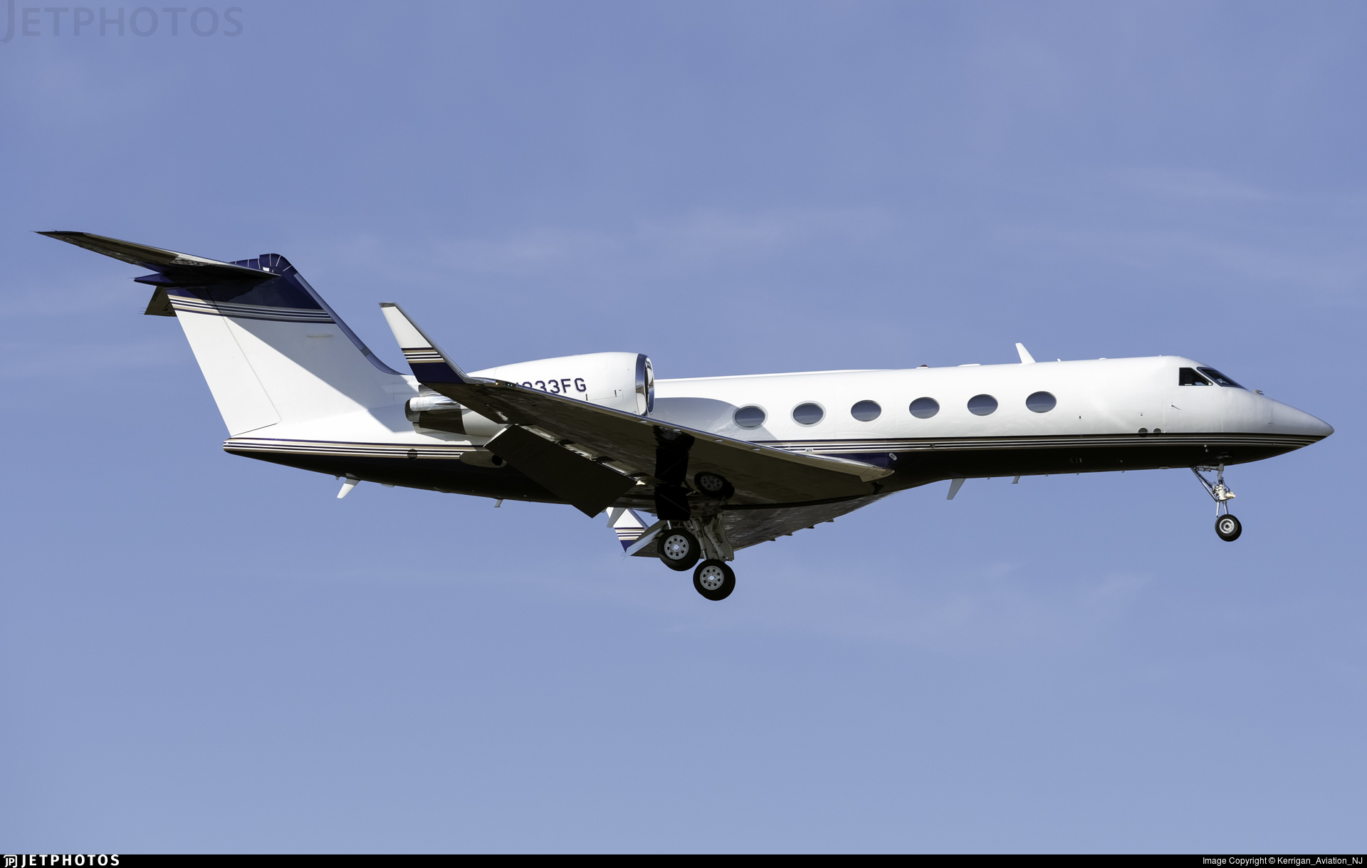 N333FG - Gulfstream G-IV(SP) - Private