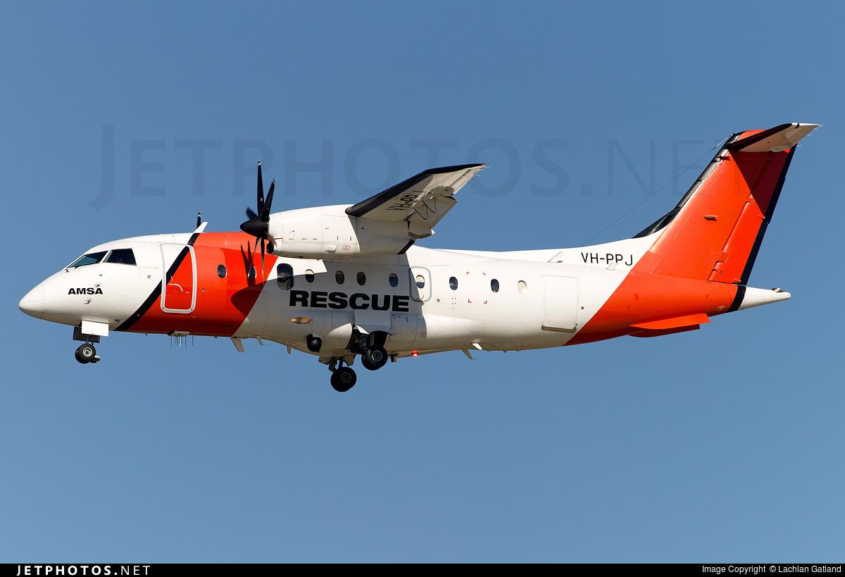 VH-PPJ - Dornier Do-328-100 - Australia - Maritime Safety Authority (MSA)