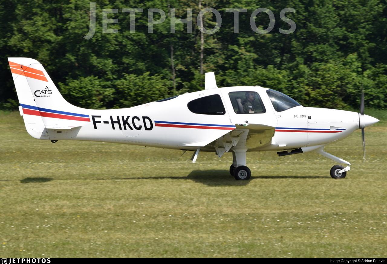 F-HKCD - Cirrus SR20 - Airbus - Cassidian Aviation Training Services