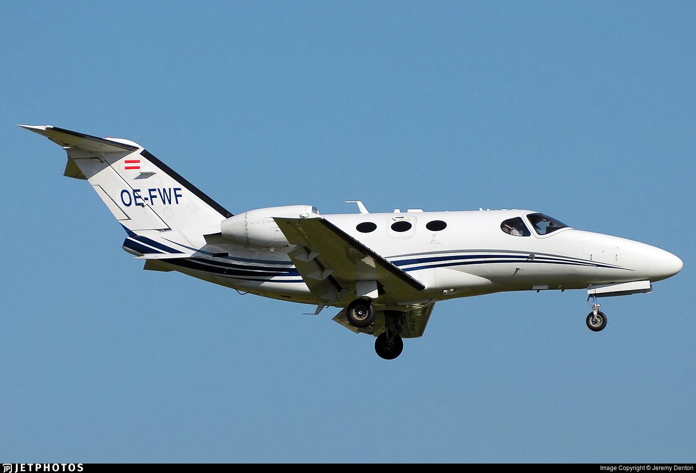 OE-FWF - Cessna 510 Citation Mustang - GlobeAir