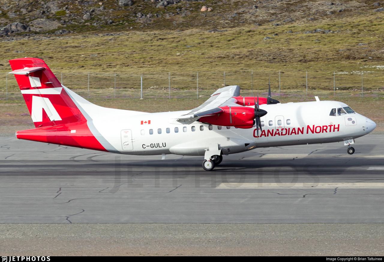 C-GULU | ATR 42-320 | Canadian North | Brian Tattuinee