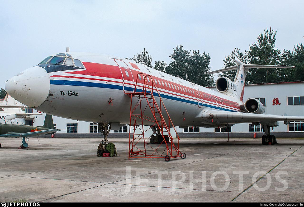 B-4004 - Tupolev Tu-154M - China United Airlines