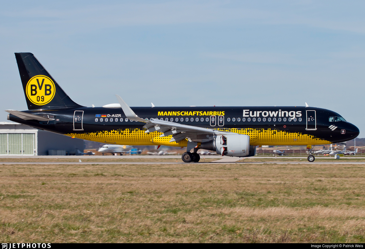 D-AIZR - Airbus A320-214 - Eurowings