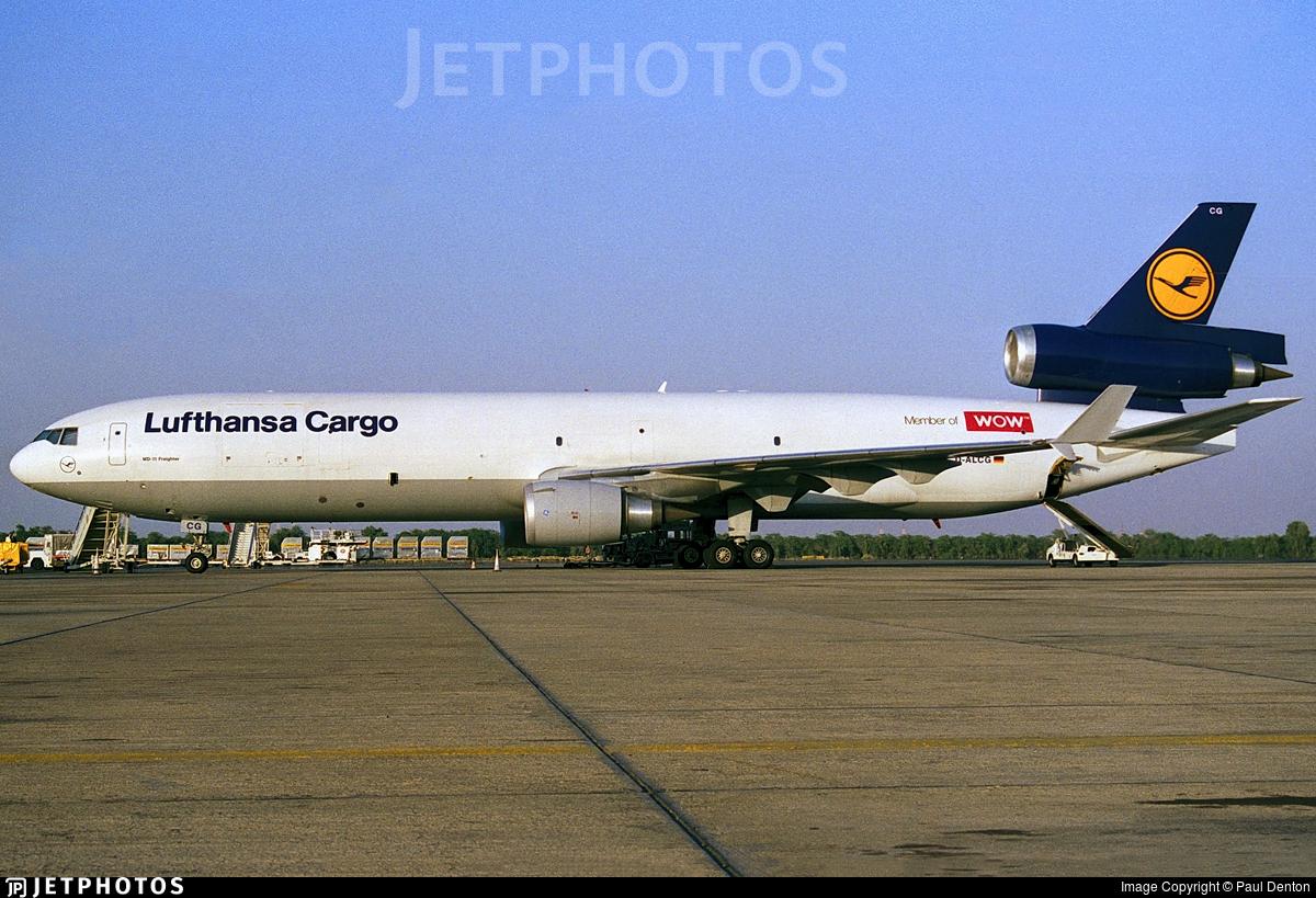 D-ALCG - McDonnell Douglas MD-11(F) - Lufthansa Cargo
