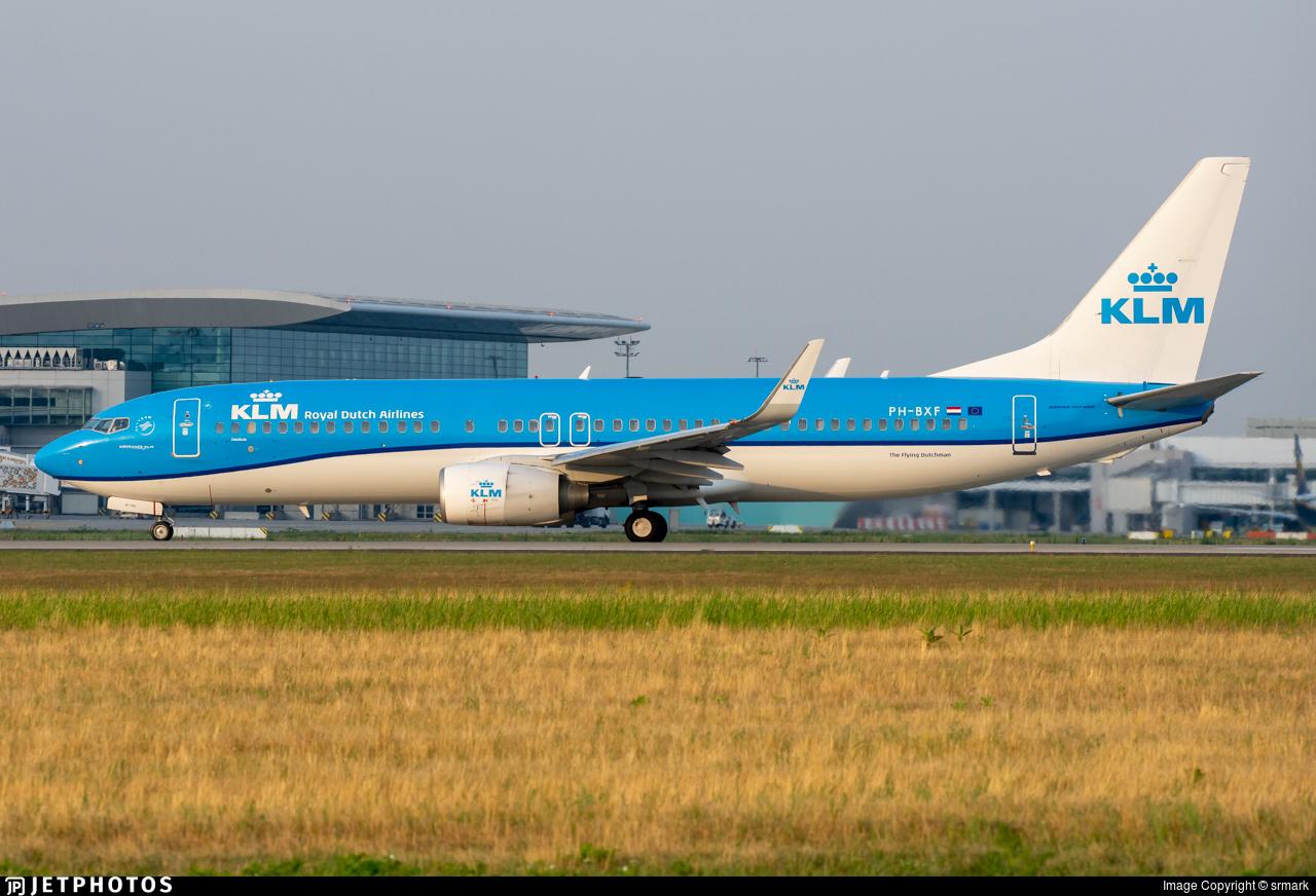 PH-BXF - Boeing 737-8K2 - KLM Royal Dutch Airlines
