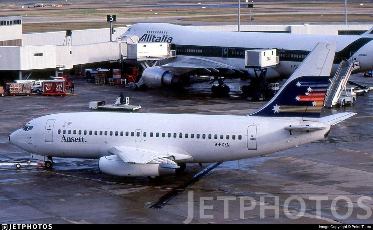 VH-CZN - Boeing 737-277(Adv) - Ansett Australia