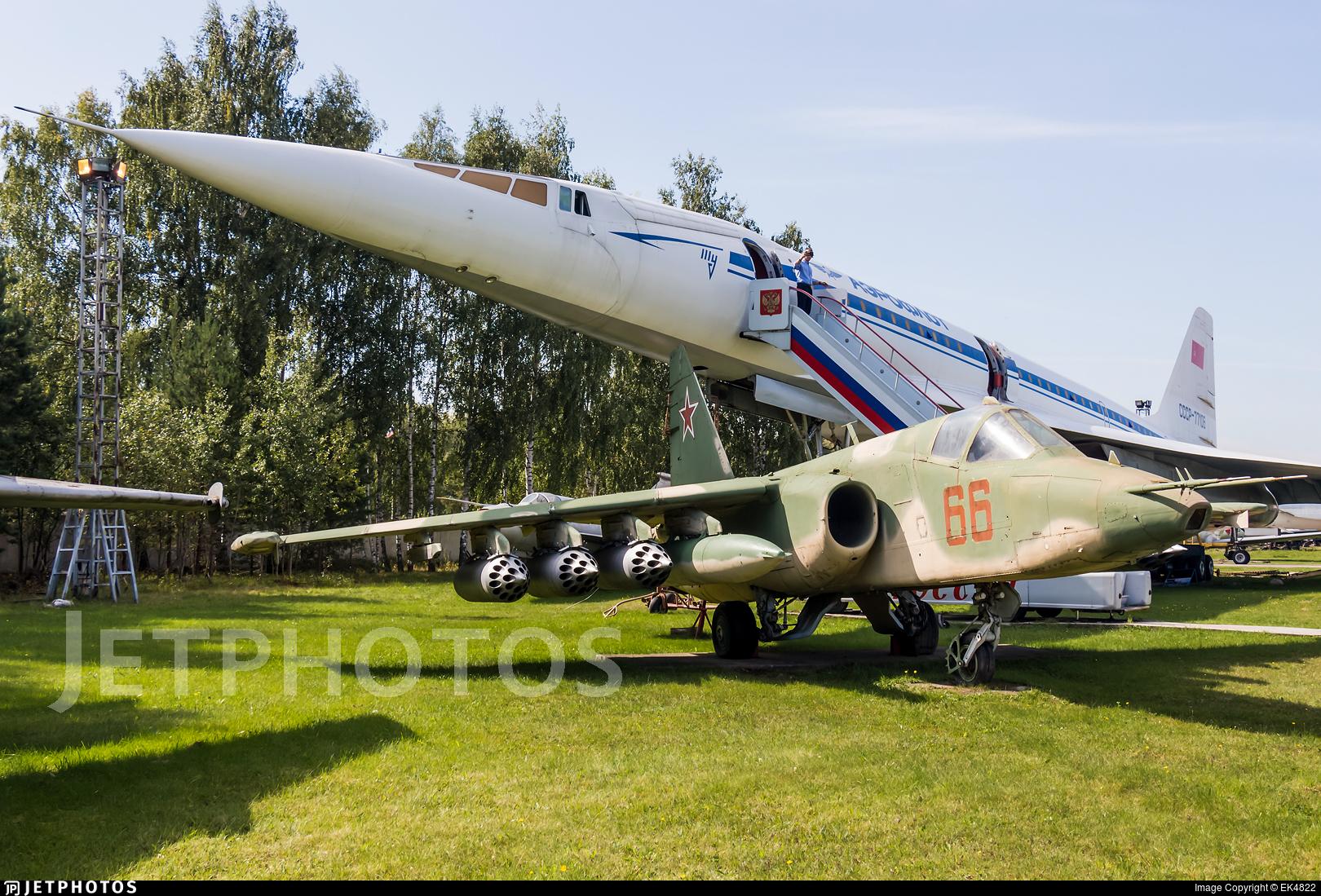 66 - Sukhoi Su-25K Frogfoot - Russia - Air Force