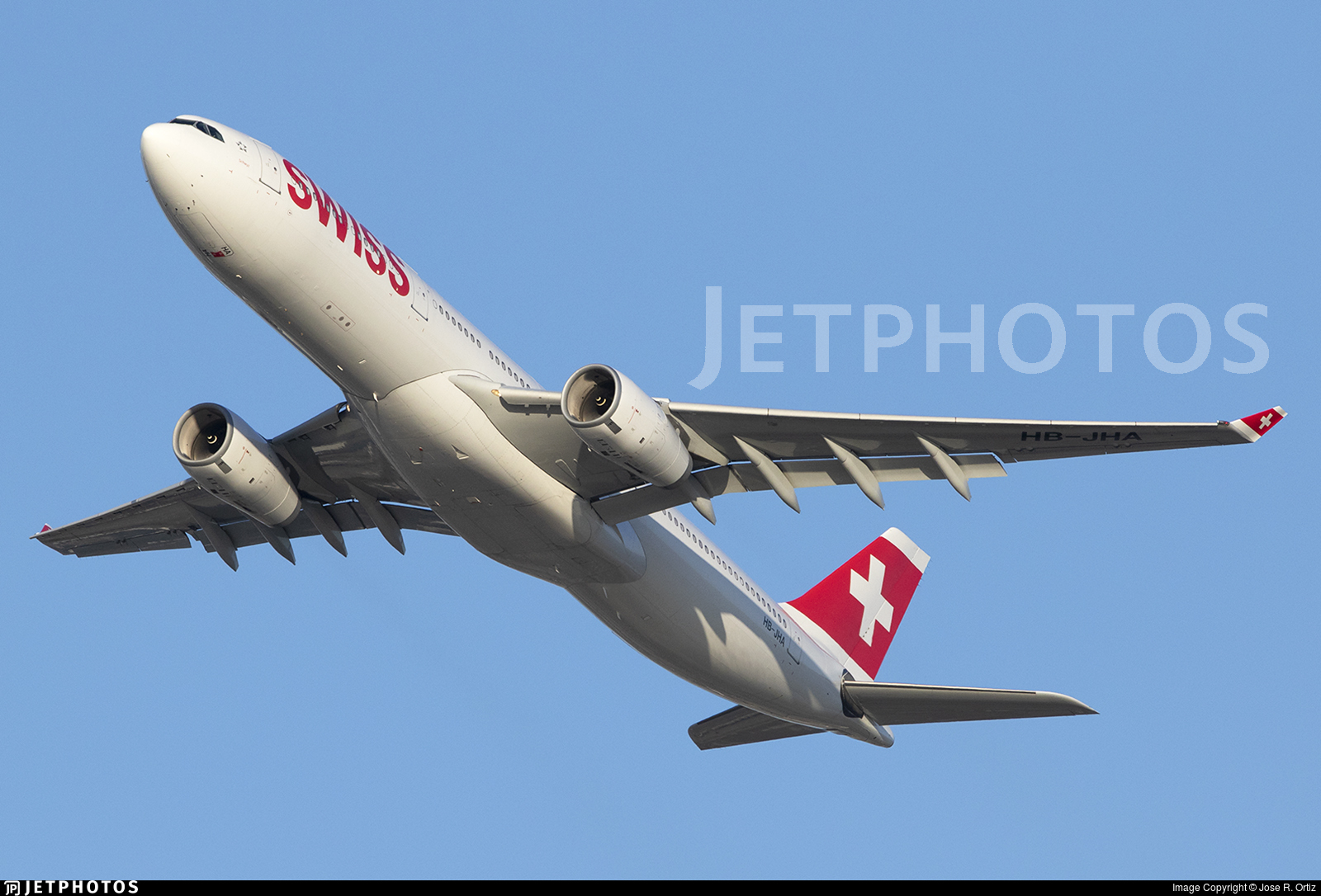 HB-JHA - Airbus A330-343 - Swiss