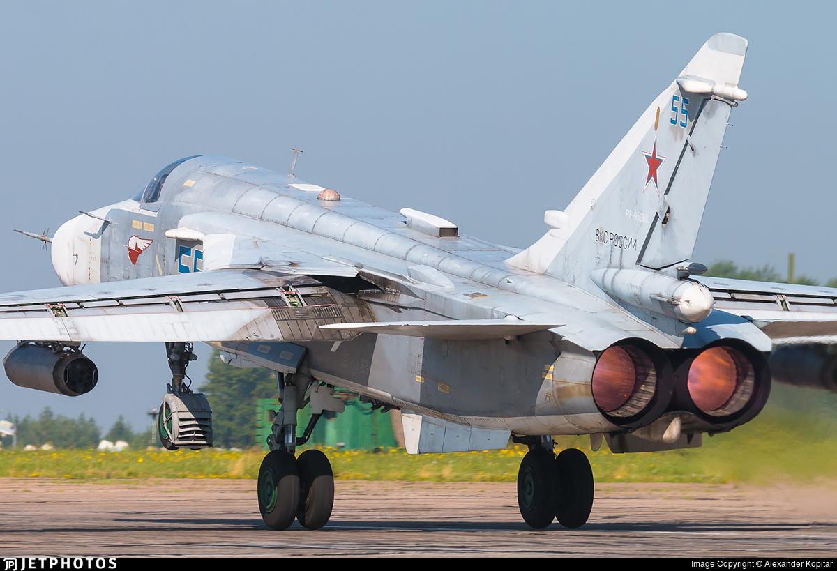 RF-95088 - Sukhoi Su-24M Fencer D - Russia - Air Force