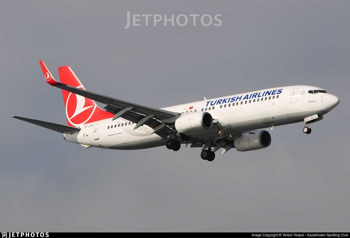 TC-JFR - Boeing 737-8F2 - Turkish Airlines
