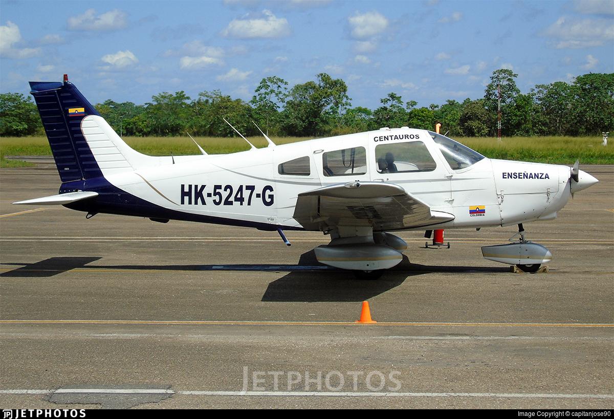HK-5247-G - Piper PA-28-161 Warrior II - Centauros Escuela de Aviación