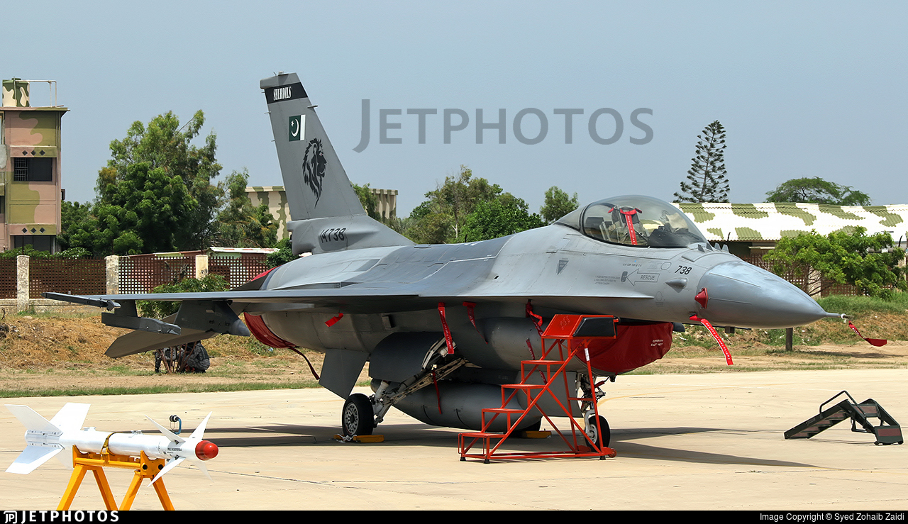 14-738 - General Dynamics F-16AM Fighting Falcon - Pakistan - Air Force