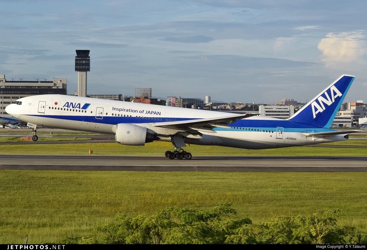 JA8969 - Boeing 777-281 - All Nippon Airways (ANA)