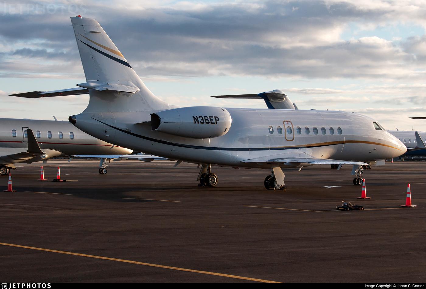 N36EP - Dassault Falcon 2000 - Private