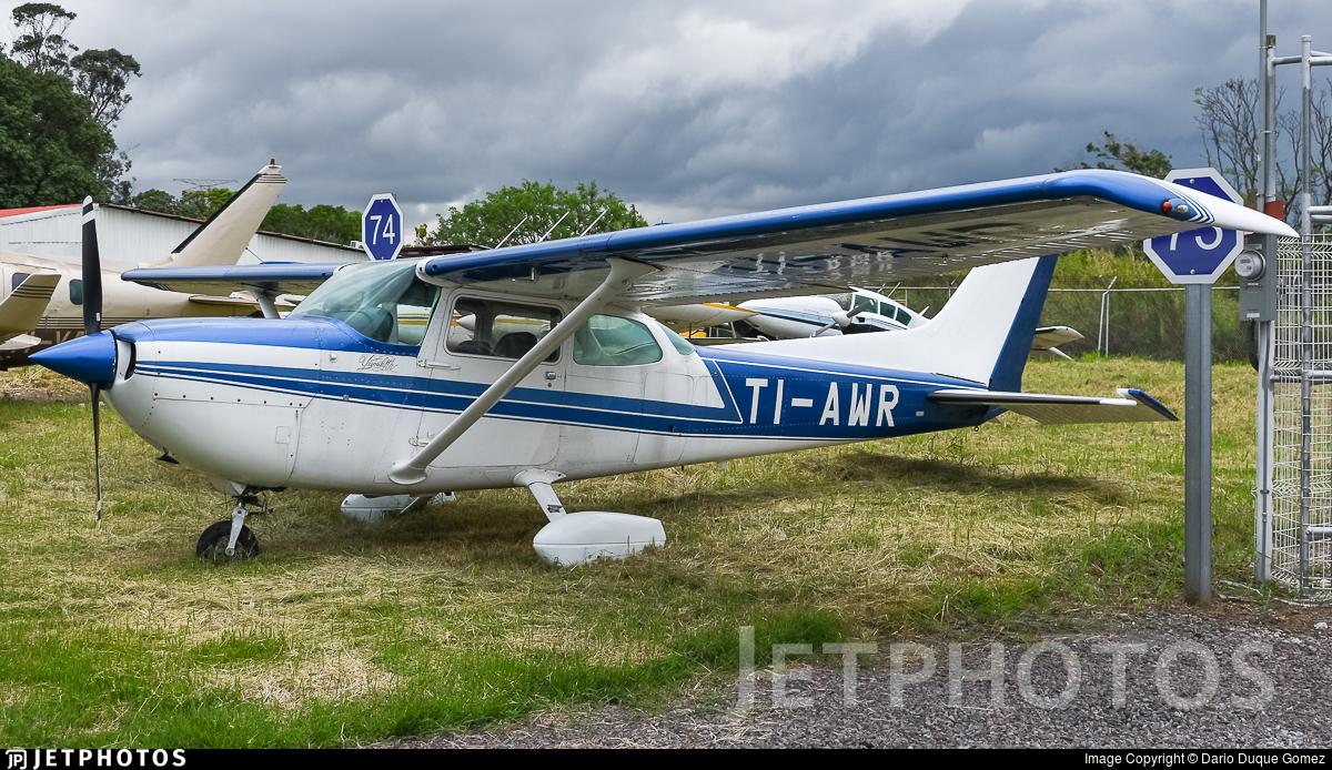 TI-AWR - Cessna R172K Hawk XP - Costa Rica - General Directorate of Civil Aviation (DGAC)